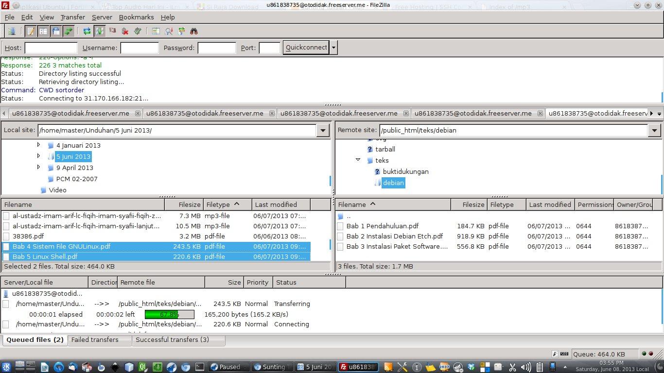 Membuat Server File Sharing/Mirror Sendiri 20 GB (Bisa Direct Link