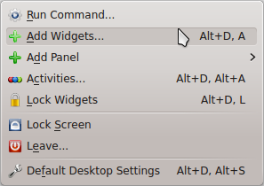 Klik kanan desktop -> tidak ada pilihan Refresh