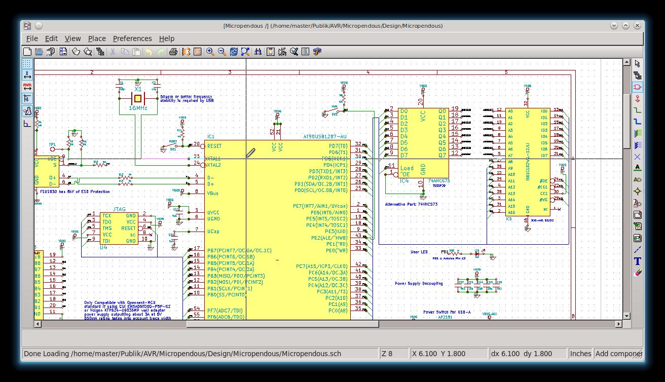Pengantar Elektronika di Linux – Aplikasi Pengganti EAGLE, Proteus ...