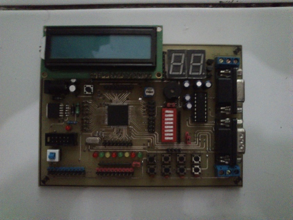 minimum system atmega128