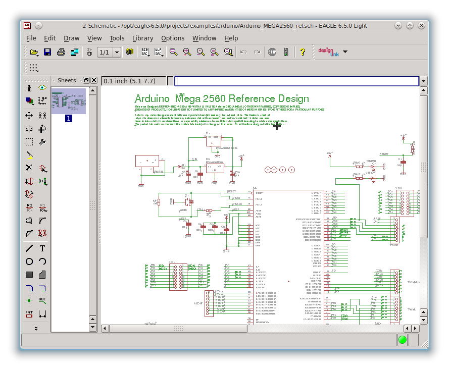 Magnificent Eagle Linux Gift - Schematic Circuit Diagram ...
