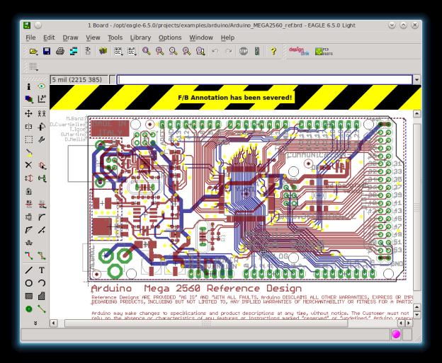 EAGLE Linux Arduino