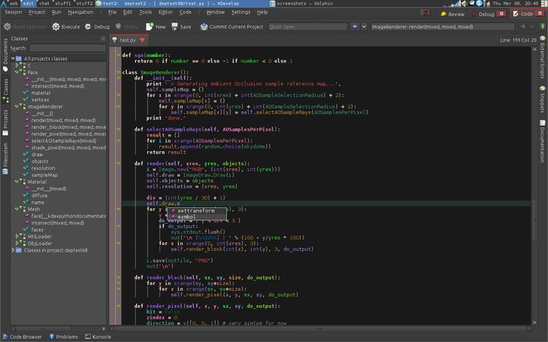 aplikasi editor pemrograman di linux